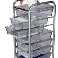 7 Mesh Drawer Cart